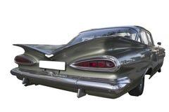 1959年薛佛列比斯坎岛(飞羚) vintafe汽车 免版税库存图片