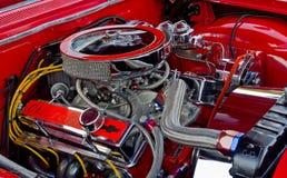 薛佛列汽车327 CI引擎 免版税库存图片