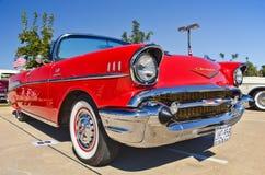 薛佛列汽车Bel Air,美国经典汽车 免版税库存图片