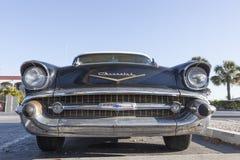 1957年薛佛列汽车Bel Air 免版税库存图片