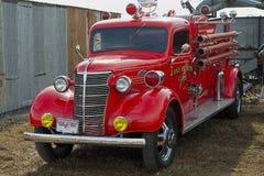 1937年薛佛列消防车 免版税库存照片