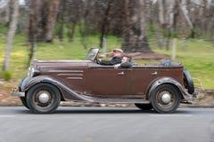 1935年薛佛列游览车 免版税库存图片