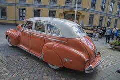 1941年薛佛列特别豪华4个门轿车 免版税库存图片
