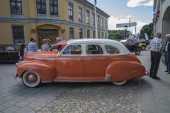 1941年薛佛列特别豪华4个门轿车 免版税库存照片