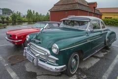 1950年薛佛列豪华小轿车 免版税库存图片