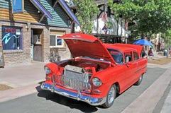 1956年薛佛列轿车 免版税库存图片