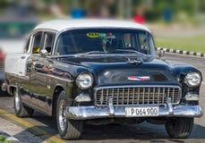 薛佛列贝莱尔体育小轿车1955年 免版税库存照片