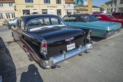 1956年薛佛列4门轿车 库存图片