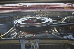 1967年薛佛列Chevelle SS引擎 库存图片