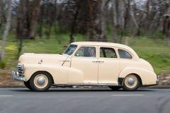 1947年薛佛列Fleetmaster轿车 免版税库存图片