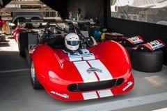 薛佛列V-8供给动力的赛车 图库摄影