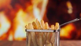 薯条消失被吃-停止运动 股票视频