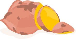 薯类菜 免版税库存图片