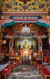 藏传佛教佛教徒修道院  免版税库存照片