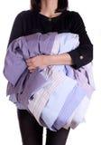 藏品衬衣妇女 库存照片