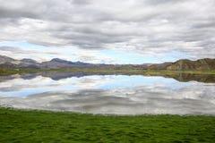 藏语把湖分类 库存图片