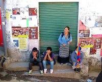 藏语放逐起义天达兰萨拉印度 免版税库存图片