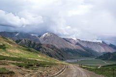 藏语柏拉图风景  库存照片