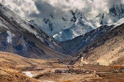 藏语的高地 免版税库存图片