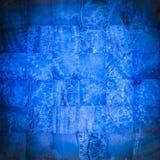 藏青色石头马赛克 库存照片
