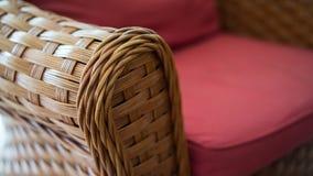藤条椅子 库存图片