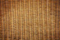 藤条纹理织法 免版税库存照片