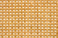 藤条纹理,细节手工造竹子编织的纹理背景 库存照片