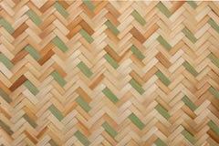 藤条纹理,细节手工造竹子编织的纹理背景 图库摄影