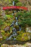 藤田纪念日本庭院在弘前市,日本 库存照片
