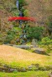 藤田纪念日本庭院在弘前市,日本 库存图片