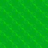 藤芽叶子绿色图表抽象样式 图库摄影