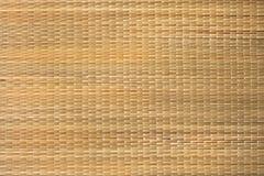 藤茎柳条制品纹理或背景 图库摄影