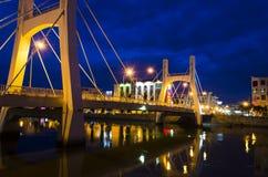 藩切市桥梁。 免版税库存照片