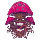 蘑菇例证 库存图片