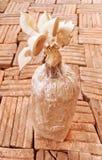 蘑菇在农场 免版税图库摄影
