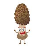 蘑菇漫画人物 免版税库存照片