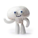 蘑菇蘑菇吉祥人 免版税库存照片