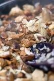 蘑菇酱油 免版税库存照片