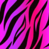 虎皮紫色无缝的表面样式,纺织品设计的,织品打印,时尚桃红色虎皮重复样式, 皇族释放例证