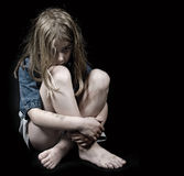 虐待儿童 免版税图库摄影