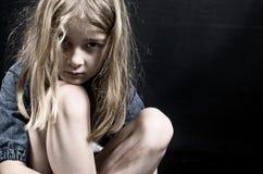 虐待儿童 免版税库存图片