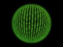 虚拟世界 免版税库存照片