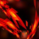 虚拟抽象背景的技术 免版税库存照片