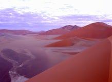 虚拟沙丘横向 库存图片