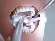 虚拟牙齿处理 库存照片