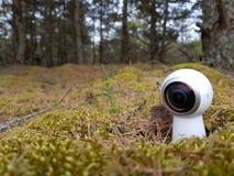 虚拟现实照相机 免版税库存图片