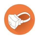 虚拟现实设备 免版税库存图片