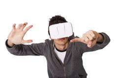 虚拟现实 免版税库存照片