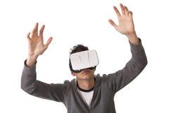 虚拟现实 图库摄影