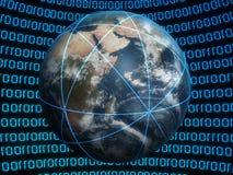 虚拟的地球 库存照片